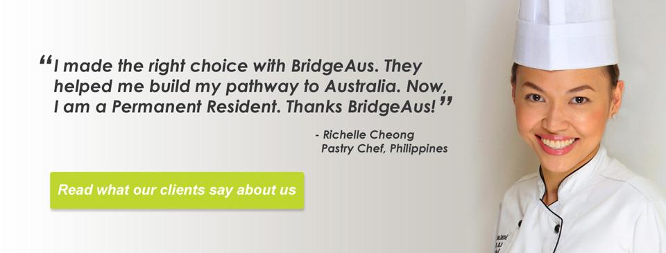 Richelle Cheong Testimonial BridgeAus