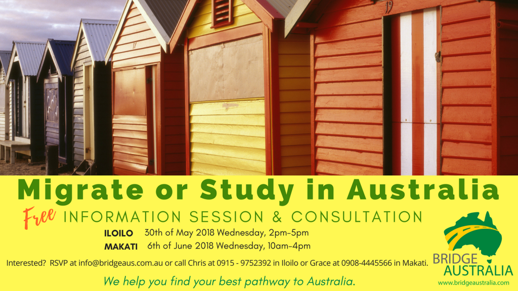 Info Session and Consultation-May-June 2018-event
