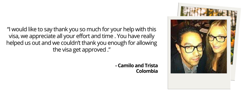 WEB Testimonial Camilo and Trista